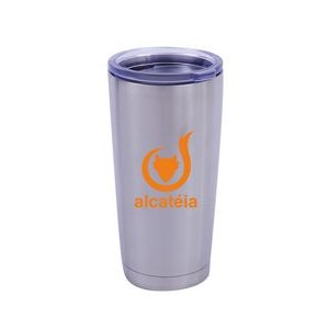 20 Oz Vacuum Tumbler with Spill Resistant Lid